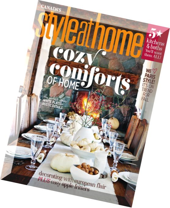 JMAC is back in the October Issue of Style at Home!